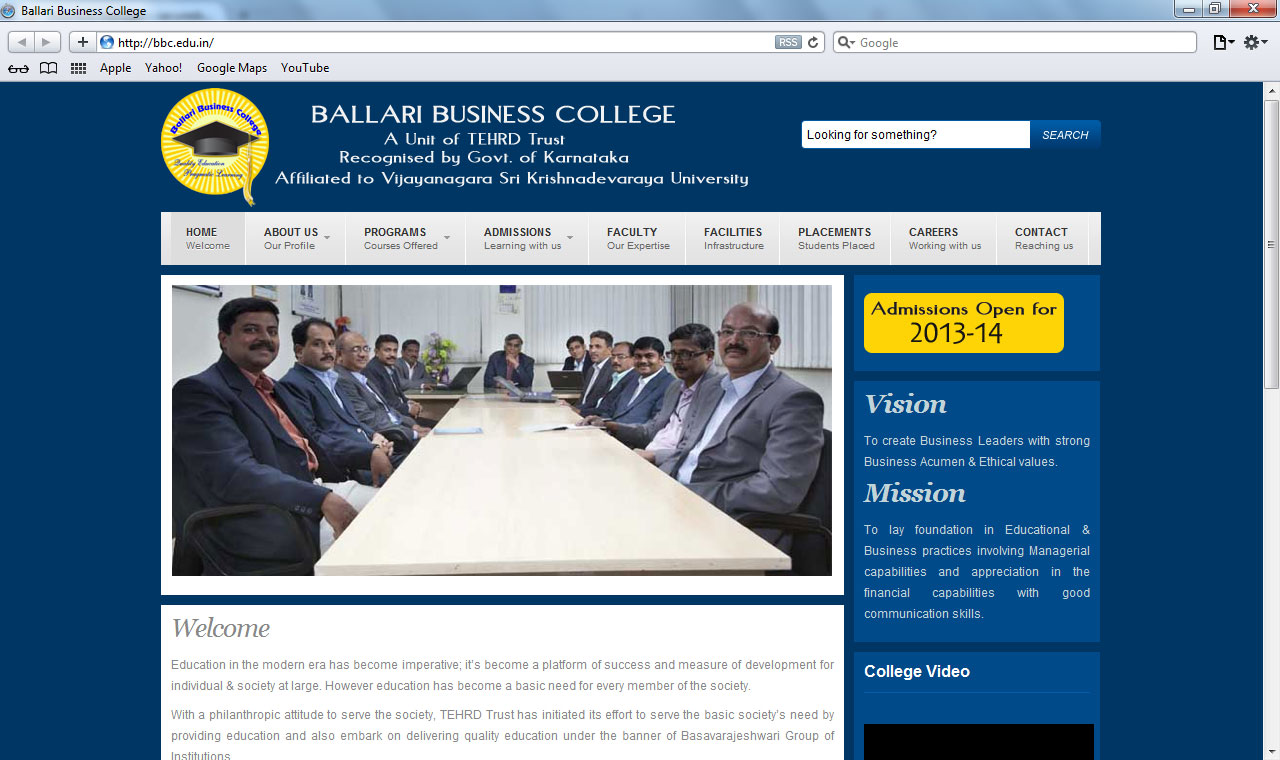Ballari Business College